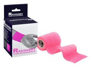 Recovery-Venda-autoaherente-rosado